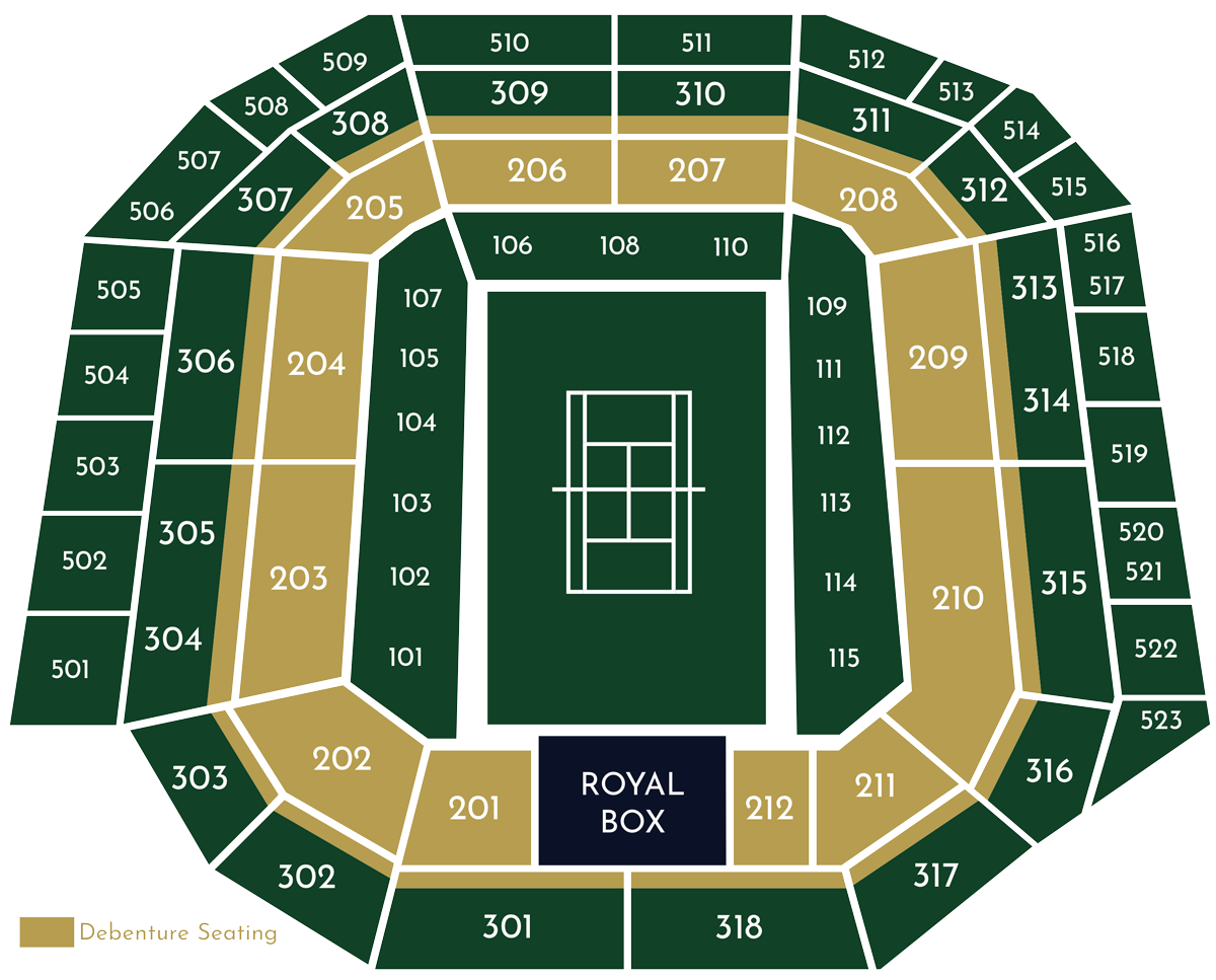 Centre Court Seating Plan Image