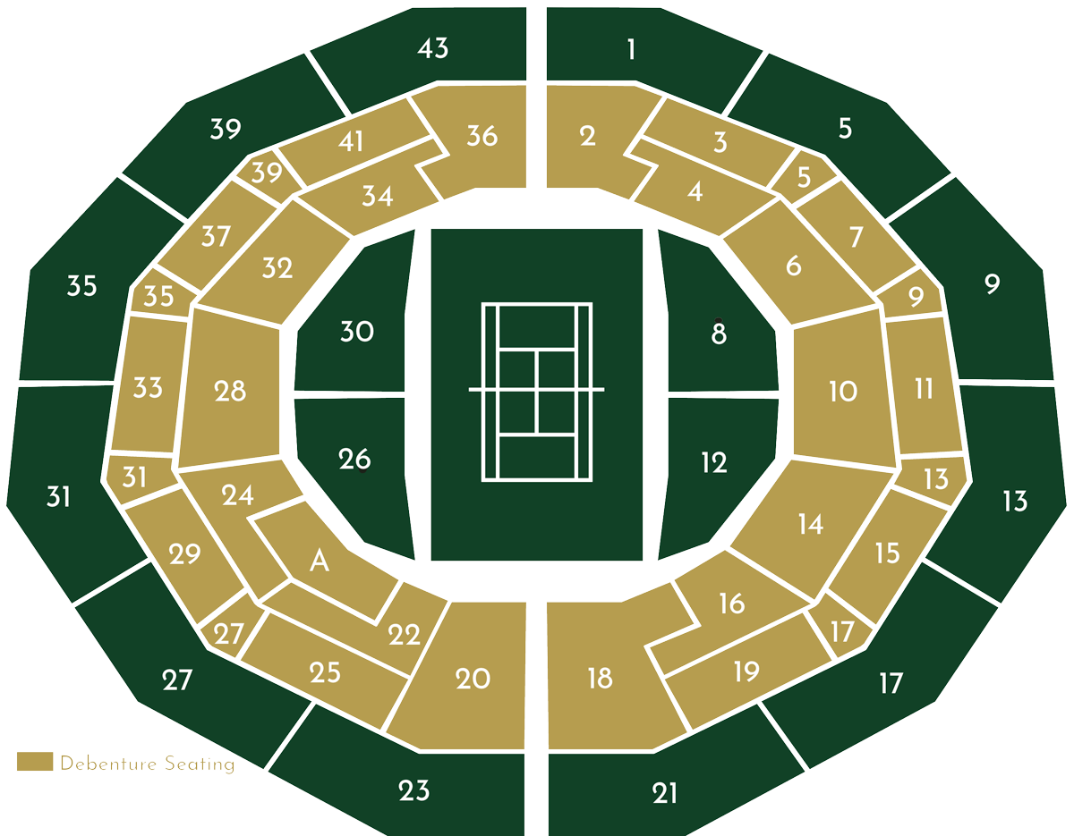 No.1 Court Plan Image